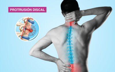 Protrusión discal y Quiropráctica